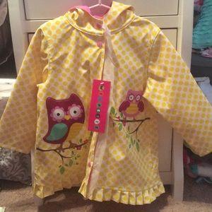 Other - NWT 3t girls rain coat